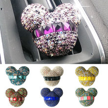 car-styling Bling Car Air Freshener Crystal Car Perfumes 100 Original Women parfum Air Conditioning Vent Flavoring In the Car(China)