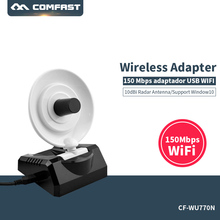 Original Comfast CF- WU770N High Power Wireless Adapter USB wifi 150Mbps Radar High Gain Antenna USB Signal Receiver/Emitter