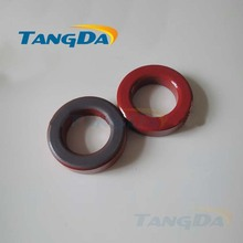 Tangda Iron powder cores T225-2 OD*ID*HT 57.5*35*14.5 mm 12nH/N2 10uo Iron dust core Ferrite Toroid Core Coating Red gray