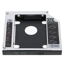 12.7mm SATA 2nd SSD HDD Hard Drive Caddy for DVD-ROM CD Optical Bay PC laptop desktop CD-ROM a hard disk bracket