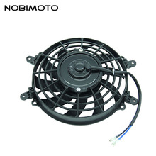 Newest High Performance Radiator Cooling Fan Oil Cooler Water Cooler Cooling Fan For Dirt Bike Motorcycle ATV Quad Buggy FS-004