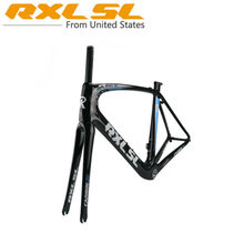 Carbon Frame Road Bike Frames Bicycle Frame RXL SL Road Bicycle Carbon Fork+Frame+Seatpost Road Bike accessories UD BSA68