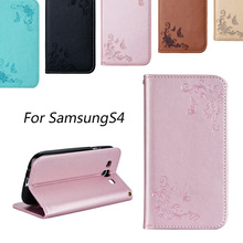 For Galaxy S4 Case Luxury Business Women/Men Card Slot Wallet Holster Leather Cellular Case Cover For Samsung Galaxy S4 Fundas