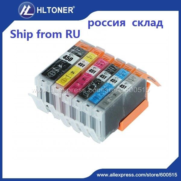 5pcs Compatible ink cartridge Canon PGI-450 CLI-451 PGI450 CLI451 for PIXMA MG5440 MG5540 MG5640 MG6340 MG6440 MG6640 MG7140 <br><br>Aliexpress