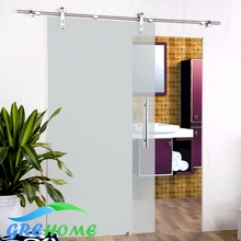 6.6 FT SS 304 barn glass sliding doors hardware closet system(China)