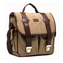 Fashion High Quality Canvas DSLR Camera Bag Professional Outdoor Photography Camera Messenger Bag Exquisite Sewing Comfortable.