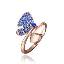 New Beautiful Fashion acessorios para mulher wedding ring v blue  anillos to.us bear wedding jewelry