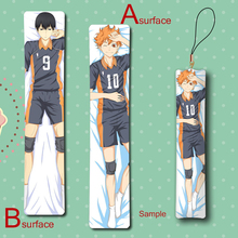 Haikyuu!! Hinata Syouyou & Kageyama Tobio BL Man Cool Anime Mini Dakimakura Keychain Pillow Hanging Ornament Phone Strap Gift
