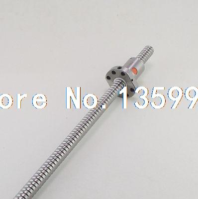(1)SFU1204 Ball Screw Set Length 200~500mm 12mm Ball Diameter With One Ball Nut<br>