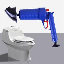 Big Size Toilets High Pressure Air Drain Blaster Cleaner Plastic Drain Cleaner Clogged Pipes Drains 4 Differents Size Adapter(China)