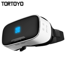 V1 VR Glasses Helmet 3D All in One VR BOX 2K Full HD LCD Screen Display Panorama 360 Degree Headset Game Virtual Reality Glasses(China)
