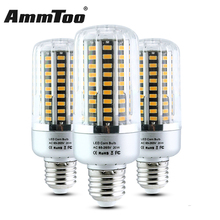 E27 E14 E12 Led Lamp SMD 5736 Led Light 85-265V 5W 10W 15W 20W 25W 220V 110V Double Aluminum PCB Led Corn Bulb Better Than 5730