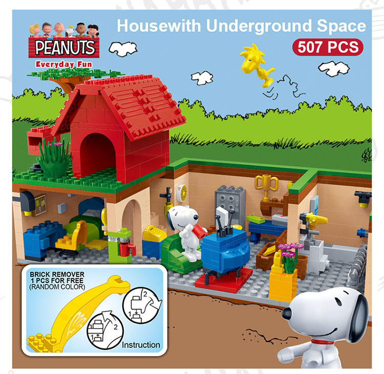 BanBao 7503 Housewith Underground Space Building Blocks 19