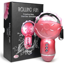 Rolling Fun Creative Idea Oral Sex Simulator,Sqweel Oral Tongue Clitoris Simulator,Adult Sex Toys For Women,Sex Products