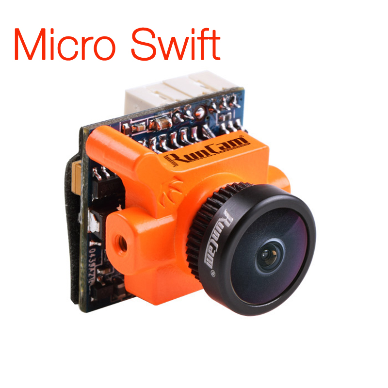 RunCam Micro Swift 600TVL 2.1mm IR Blocked 1/3 CCD FPV Camera PAL/NTSC 5.6g<br>