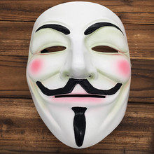 High Quality Mask V For Vendetta Resin Collect Home Decor Party Cosplay Lenses Anonymous Guy Fawkes Mask