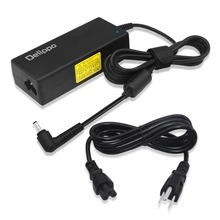 Delippo 24V 3A AC DC Adapter Power Supply Cord Charger 5.5*2.5mm Tip For LCD Monitor Printer