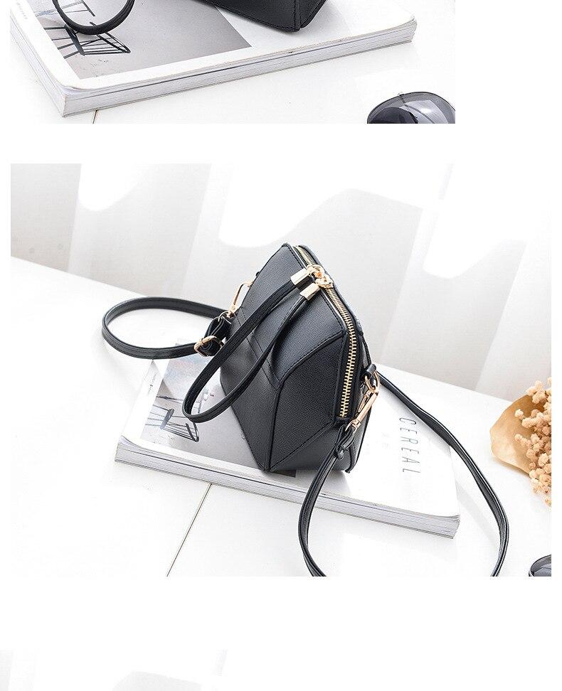 2017 New Women Messenger Bag Fashion Crossbody Bags Leisure Ladies Pu Leather Sac Female Luxury Handbag Shoulder Bag Bolsa Mujer