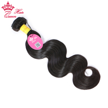 Queen Hair Products Peruvian Body Wave Bundles 1pc/lot 100% Remy Human Hair Weave Hair Extensions Natural Color Free Shipping(China)