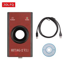 2018 NEW HiTag2 V3.1 Programmer (Red) For BMW (CAS1/2/3/3 +) ad hitag2 universal keys programmer for bmw Key Programming Tool(China)