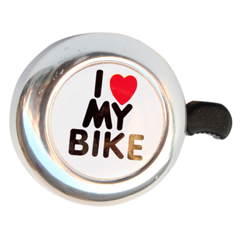 1PC Bicycle Cycling Ring Bell Heart Alarm Bike Metal Ultra Loud Handlebar Horn