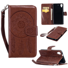 PU Leather Stand Flip Holster For HTC Desire 626 628 650 Cases Covers 626w 626D 626G 626S Housing Bags Skin Dream Catcher Shell