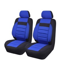 2 pieces/lot Soft Sofa Unverisal Car Seat Covers Red Blue Beige Color Car-pass Brand Automobile Seat Covers Fit For Ford Hyundai