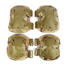 Military Tactical Protective Knee Pad Elbow Support Airsoft Paintball Combat Knee Protector Hunting Skate Scooter Kneepads(China)