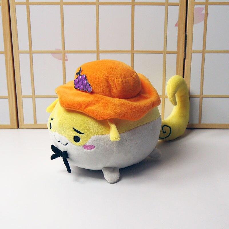 Anime TouHou Project Aki Minoriko Cosplay Plush Doll Soft Stuffed Cute Toy