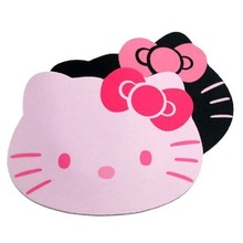 Hello Kitty Laptop Computer Mouse Pad Mat Pink/Black color