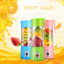 Original USB Rechargeable Electric Fruit Juicer Cup Blender Fruit Vegetable Tools Home Garden Kitchen Tools(China)