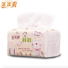 NoEnName_Null Flat Paper Napkins 1 Bag Cartoon Toilet Paper Toilet Paper Manufacturers Sassafras Health Protection
