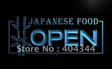 LB023- OPEN Japanese Japan Restaurant   LED Neon Light Sign     home decor  crafts