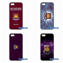 For Apple iPhone 4 4S 5 5S 5C SE 6 6S 7 Plus 4.7 5.5 iPod Touch 4 5 6 Original West Ham United Logo Case Cover