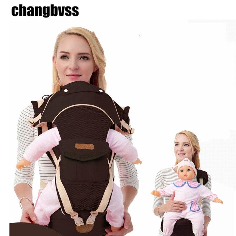 Breathable Multi usage Ergonom Carrier Baby holder,Adjustable Kids  Sling Carrier For 0~48 Months Baby,portabebe ergonomico<br>