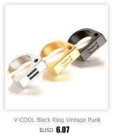 HTB1IGG5cBLN8KJjSZFpq6zZaVXaz - V-COOL Punk Мужская Байкер Два Пальца кольца Личность хип-хоп нержавеющая сталь кастет мода ювелирные изделия кольца VR133