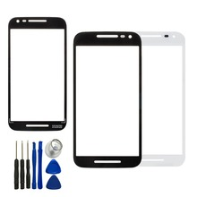 Front Touch Screen Outer Glass Lens Cover For Motorola Moto G3 G 3rd Gen XT1540 XT1541+Free Tools, Free Shipping&Tracking Number