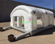 Outdoor portable mini inflatable paint booth / inflatable spray booth / inflatable portable spray booth for car
