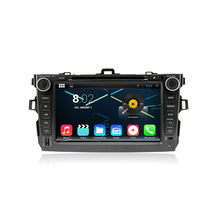 android 5.1.1 quad core 1024*600 HD LCD car dvd player for toyota corolla 2006-2011 2010 gps navi 3G dvr obd2 wifi RADIO MAP(China)