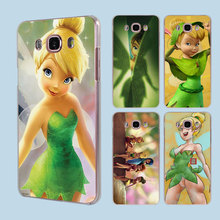 Tinkerbell Tinker bell  transparent clear hard case cover for Samsung Galaxy J1 J2 J3 J5 J7Prime J7 J510 J710 2016