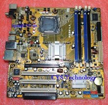 Free shipping for original mainboard for P5BW-LA  Motherboard 5188-4384, 5188-6241 DDR2,LGA775,965P  work perfect