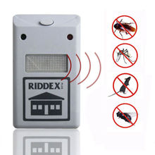 New Efficient Riddex Pest Repelling Aid Outdoor Garden Yard Ultrasonic Sonic Mole Vole Rodent Mosquito Killer Pest Repeller EU