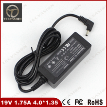 Welcome Bulk Order High Quality 19V 1.75A 33W 4.0*1.35mm Power Supply Laptop Charger AC Adapter For Asus Vivobook S200 S220(China)