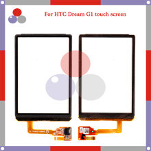 "10pcs/lot high quality 3.2"" For HTC Dream G1 Touch Screen Digitizer Sensor Front Glass Lens panel Black"