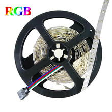 5M DC12V LED Strip 3528 SMD 300LEDs Rope Light Red Green Blue Yellow White Warm White RGB Strip Light Home Decoration Tape Lamp