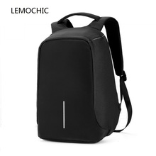 LEMOCHIC hot sale simple shuolder bag travel leisure sack business laptop crossbody bag oxford shoulder pocket students bag pack(China)
