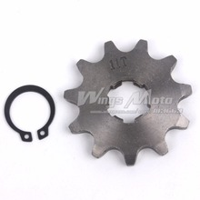 420-11T 17mm Front Sprocket 420 Size 11 Teeth for Motorcycle ATV Dirtbike(China)