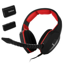 HUHD bdasheng Stereo Gaming Headset Optical Fiber Noise Cancelling Headband Headphone for Xbox 360/PS4/PS3/PC/MAC,LED Backlight(China)