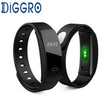 QS80 Smart Wristband Blood Pressure Bracelet Heart Rate Fitness Sleep Measure Waterproof Call Tracker for Android iOS pk miband(China)