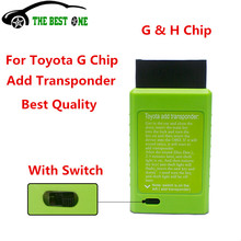 2016 For Toyota G And For Toyota H Chip Vehicle OBD Remote Key Programmer The Best Auto Key Programmer With Excellent Quality(China)